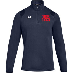 UA Hustle Fleece 1/4 Zip